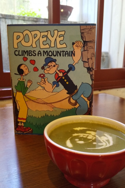 A Soup Fit for Popeye