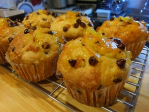 Chocolate and Marmalade Muffins